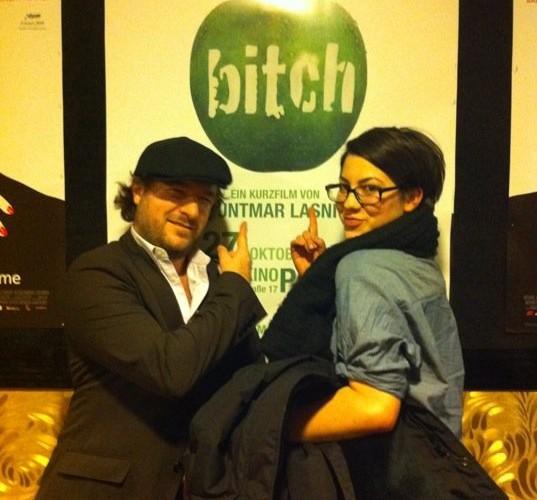 "Premiere unseres Kurzfilmes ""bitch"""
