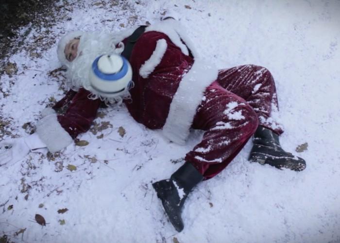 Braun-weisse Weihnachtsgrüsse 2011