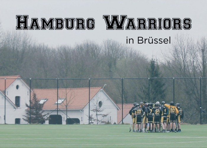 HTHC Hamburg Warriors in Brüssel