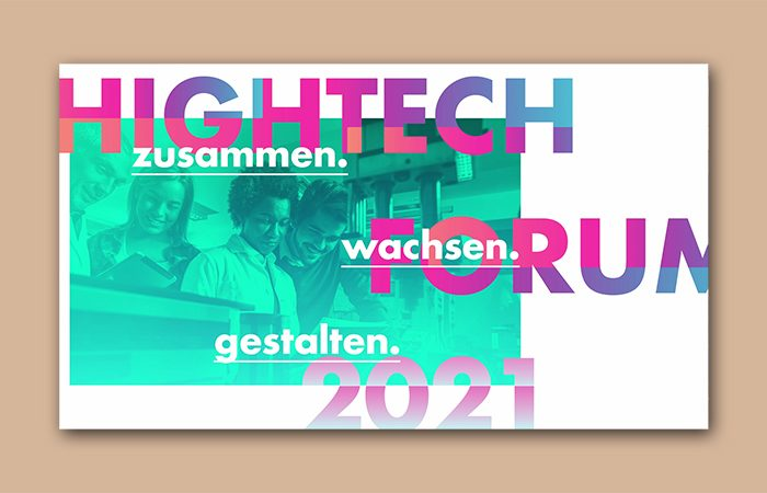 Ergebniskonferenz des Hightech Forums 2021