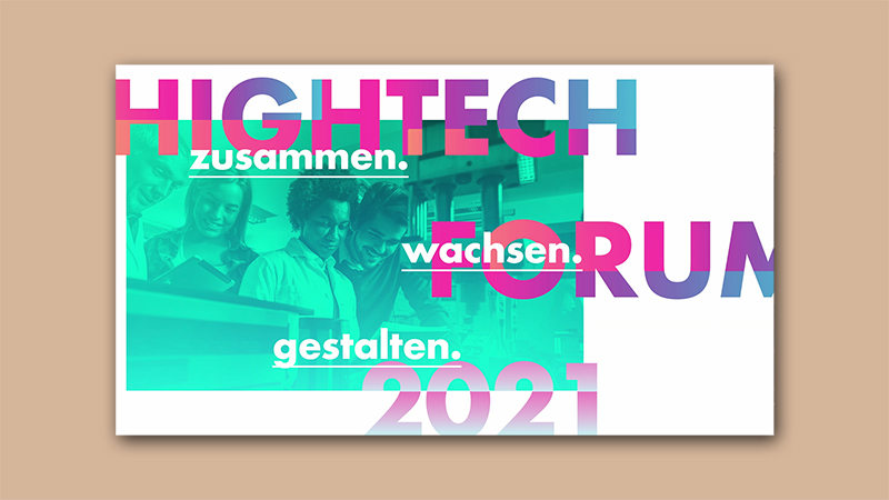 Ergebniskonferenz des Hightech Forums 2021
